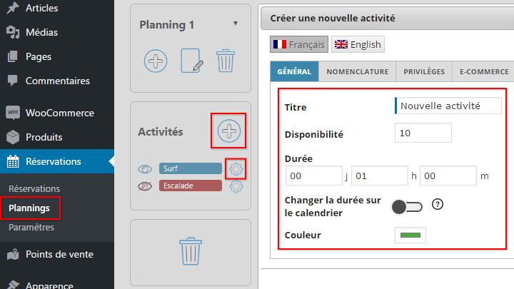 creer-modifier-supprimer-activites